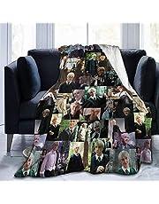 """Draco-Malfoy Deken Gooi Deken Super Zachte Fleece Dekens voor Alle Seizoen Ultra Zachte Fleece Deken voor Thuis Reizen Bank Warm Gezellige Fuzzy Deken voor Kinderen Volwassenen 60 """"X 50"""""""