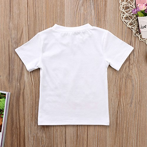 e76e19ac3 Gaono 2018 Baby Girl Clothes Outfit Big Sister Letter Print T-shirt Top  Blouse Shirts