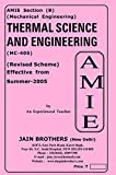 AMIE Thermal Science & Engineering MC 405 Solved Paper