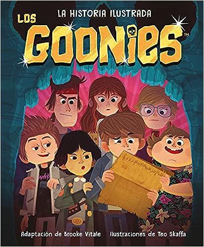 Los Goonies. La historia ilustrada de Brooke Vitale