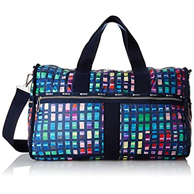 LeSportsac Women's Cr Large Weekender, Color Blocks