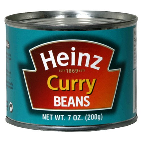 Heinz Curried Beans, 7-Ounce Can (Pack of 12)