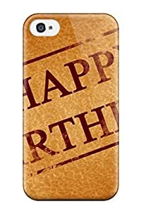 For AUynSDd2850TqPzS Happy Happy Birthday Protective Case Cover Skin/iphone 4/4s Case Cover