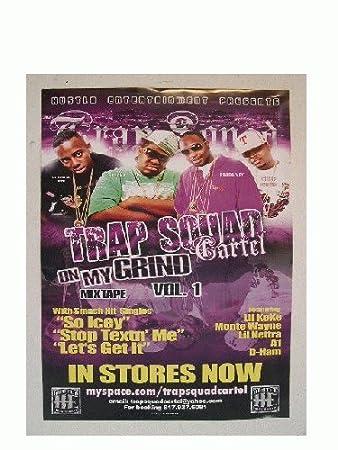 Amazon.com : Trap Squad Cartel Poster : Prints : Everything Else