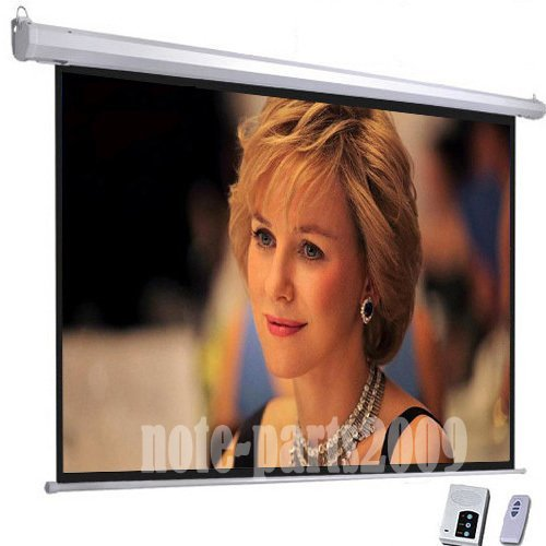 - Motorized Electric Auto Projector Projection Screen 16:9 Home Theater HDMI HD Automatic Remote Control