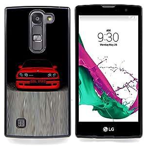 - M3 E30 B M W - - Cubierta del caso de impacto con el patr??n Art Designs FOR LG Volt 2 / LG G4 Mini (G4c) Queen Pattern