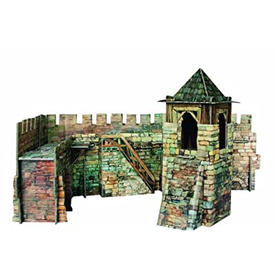 Clever Paper Town Wall with Figures: Toys & Games