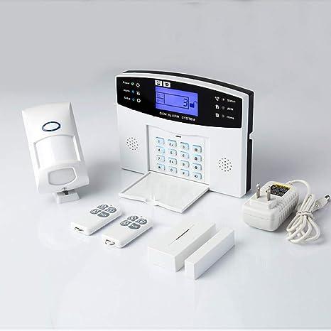 MTK Sistema Alarma Inteligente Hogar Gsm, Sistema Alarma Antirrobo Inteligente Hogar, DiseñO Pantalla TáCtil