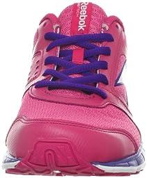 Reebok ZigKick Alpha Running Shoe (Big Kid),Optimal Pink/Candy Pink/Ultraviolet/White/Polished Pink,6 M US Big Kid