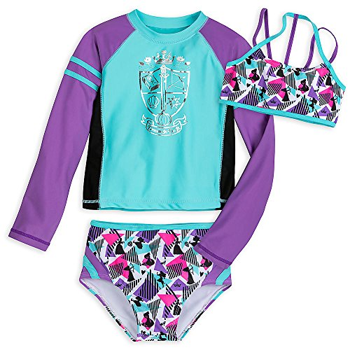 Disney Princess Three-Piece Swimwear Set For Girls Size 7/8 458035936892