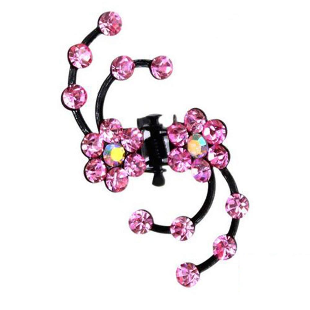 6pcs Wedding Bridal Crystal Plum flower Hair Pin Hair Clip Hair Accessories