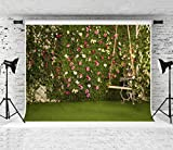 Kate 10x10ft Easter Backdrops for Photography Garden Cornor Background Satisfying Spring Royal Backdrops High Resolution Easter Backgrounds