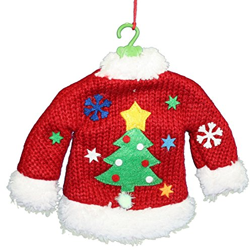 Ugly christmas sweater ornaments unique