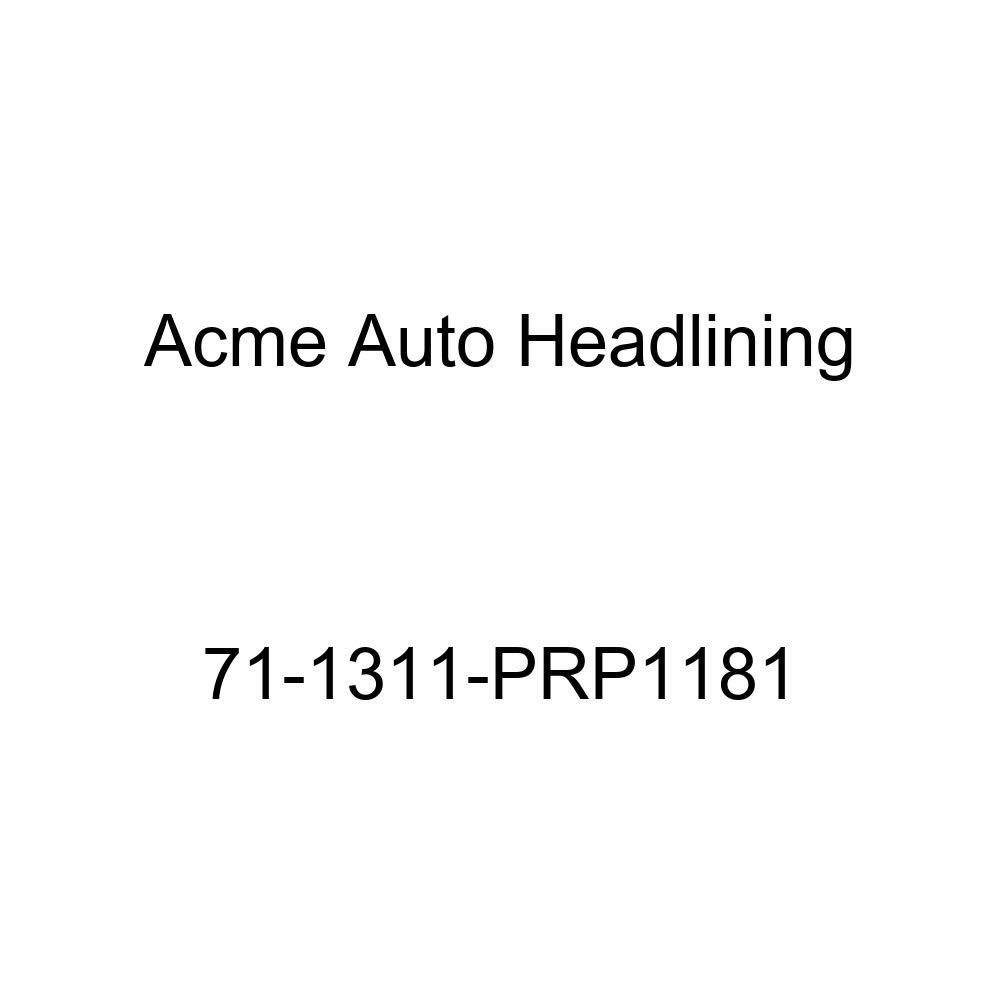 6 Bow 1971 Cadillac Calais and DeVille 2 Door Hardtop Acme Auto Headlining 71-1311-PRP1181 White Replacement Headliner