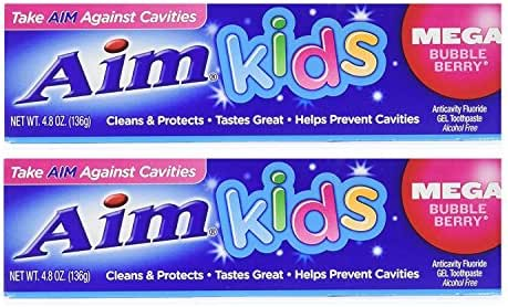 Toothpaste: Aim Kids