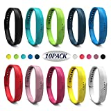 Wekin Replacement Wrist Band Compatible for Flex 2, Soft Silicone Accessory Wristband Strap for Flex 2 Sports Classic Fitness Tracker
