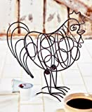 Rooster Farmhouse Coffee Pod Holder. Metal.