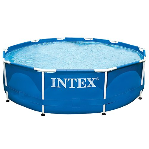Intex Aufstellpool Frame Pool Set Rondo, Blau, Ø 305 x 76cm