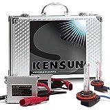 HID Xenon Headlight Conversion Kit by Kensun, H11, 8000K - 2 Year Warranty