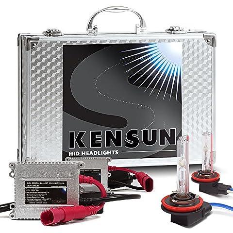 HID Xenon Headlight Conversion Kit by Kensun, H11, 8000K - 2 Year Warranty (D2s Corolla)