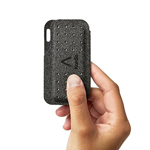Alivecor® Kardia Mobile Carry Pod Carrying Case | Travel Case Features Magnetic Closure to Keep Kardia Device Safe On-The-Go | Fits in Pocket or Purse or Attaches to Keyring