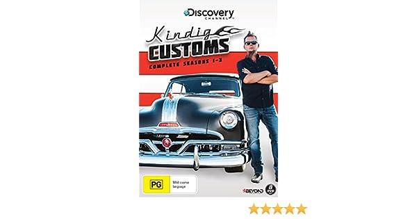 Amazon com: Kindig Customs: Season 1, 2 & 3 | 8 Discs | NON