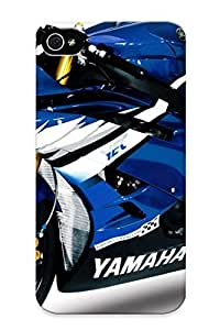 Case For Iphone 4/4s Tpu Phone Case Cover(yamaha R6 ) For Thanksgiving Day's Gift