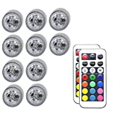 Best Bulb Lights With IR Remotes - HuDieM Flameless LED Tea Lights Candles,Multi Color Bulb Review