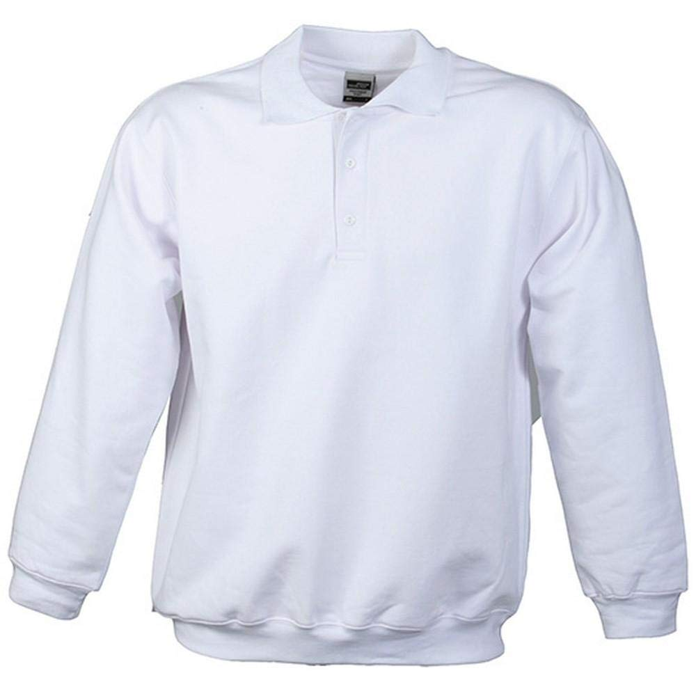 James and Nicholson Mens Heavy Polo Sweat