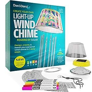 Amazon.com: Dan&Darci Crea tu propio kit de timbre de viento ...