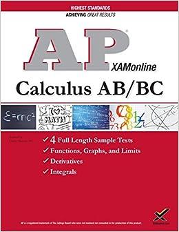 Book AP Calculus AB/BC