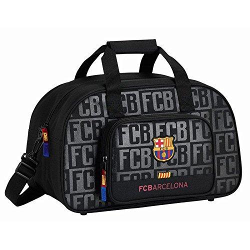 Safta Sportliche Tasche f. C. Barcelona Black 40cm