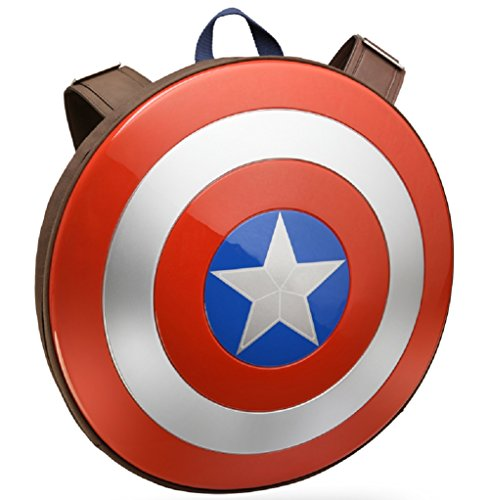 Captain+America Products : Marvel Avengers: Age of Ultron Captain America Shield Backpack