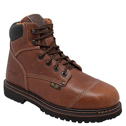 Adtec Menns 6-tommers Komfort Arbeid Boot Tan