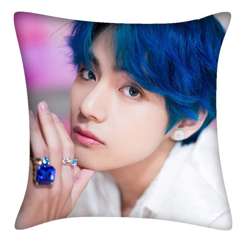 H01 yuhiugre 2019 BTS Bangtan Boys Newest Album《MAP/_of/_The/_Soul/_Persona 》Double Sided Pillowcase Pillow Cover Pillow Cushion