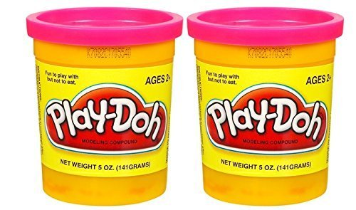 PLAY-DOH Compound Tropical Pink - Two, 5 oz Cans (10 oz)