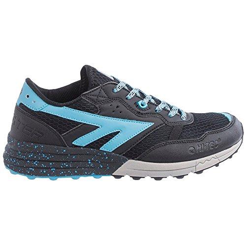 Hi-Tec Women's Trail Running Shoes Black Black