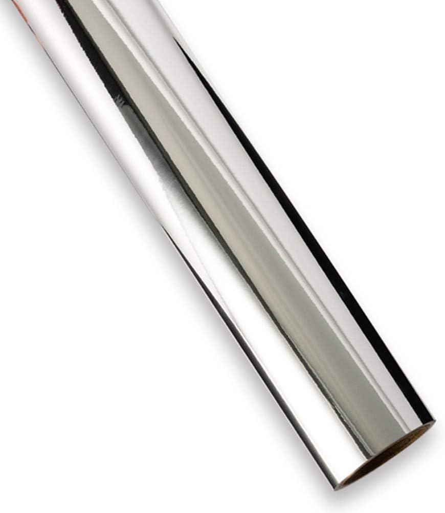 30 cm par 30 cm Redodeco Rouleau de feuilles de vinyle adh/ésif permanent en opale brillant pour coupe-cam/ée et crickut 3 feuilles Silver