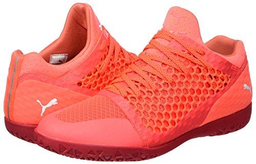 White 365 fiery toreador Soccer Rouges Coral Puma Chaussures Hommes Ct De Netfit Pour SnqqB1P