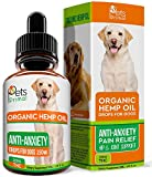 Hemp Oil for Dogs & Cats - Full Spectrum Hemp Extract Made in USA - Organic Pet Hemp Oil - Supports Hip & Joint Health, Natural Pain Relief, Anti-Anxiety - Omega 3, 6