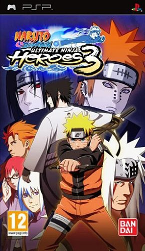 Naruto Shippuden: Ultimate Ninja Heroes 3 - PSP