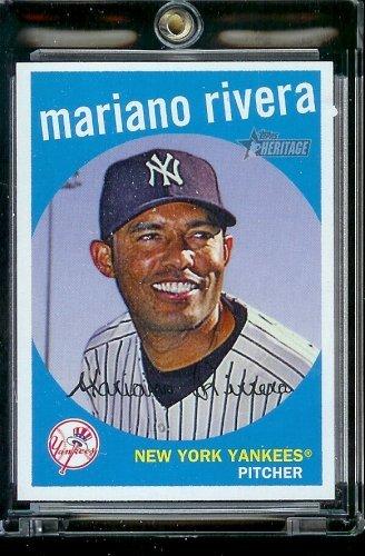 2008 Topps Heritage Baseball - 2008 Topps Heritage Baseball Card #99 Mariano Rivera