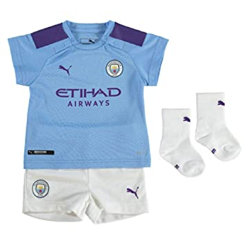 Amazon.com: Puma 2019-2020 Manchester City Home - Kit para ...