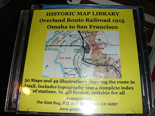 - Historic Map Library - Overland Route Railroad 1915 CD