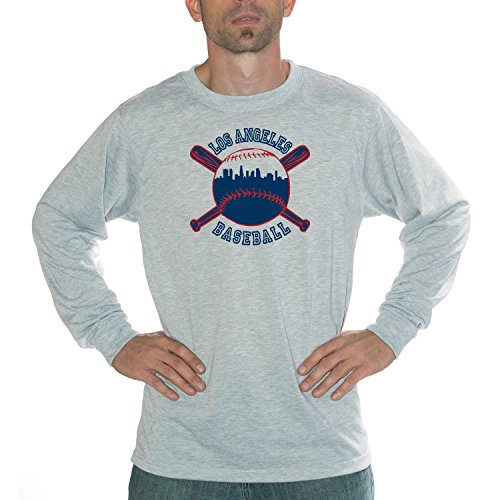 My City - Los Angeles Baseball Performance Long Sleeve Shirt (Mlb Ballpark Long Sleeve)