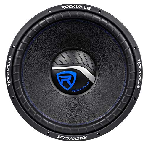 Rockville W15K6D4 V2 15' 4000w Car Audio Subwoofer Dual 4-Ohm Sub CEA Compliant