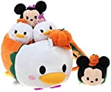 Tsum Tsum Plush / Smartphone Cleaner (S) & Bag Set / Halloween Limited Products Disney Store (Japan Import)