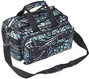 Bulldog Cases BD910SRN Deluxe, Range Bag, Blk/Serenity Camo, Nylon, Medium, Includes Shoulder Strap