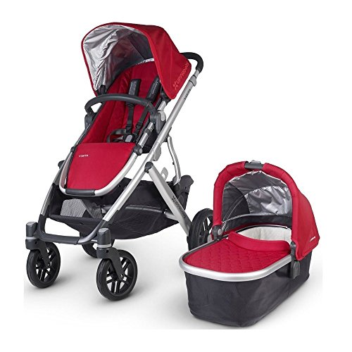 UPPAbaby VISTA Stroller, Denny (Red)