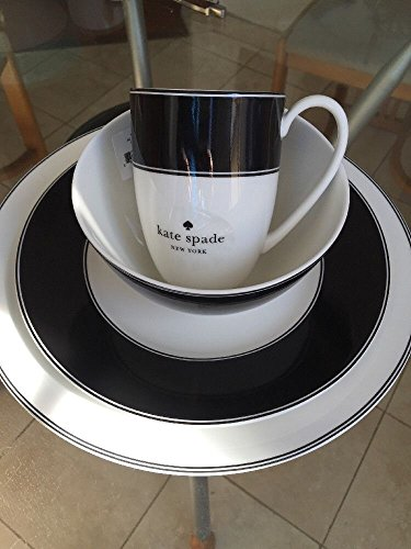 (Kate Spade Lenox Nag's head 4pc set dinner, salad plate, bowl, coffee mug)